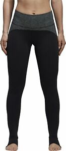 adidas Believe This High Rise Womens Long Yoga Tights - Black