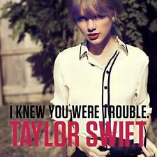 "TAYLOR SWIFT - Limited Ed Numbered ""I KNEW YOU WERE TROUBLE"" CD Single SEALED"