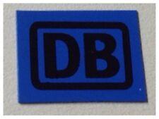 Modellbahn LGB Gartenbahn 10x Deutsche BAHN Schilder Blau-Schwarz 13x17mm Spur G