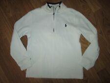 Boys Ralph Auren Polo quarter zip sweater sz 7