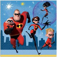 Incredibles 2 Lunch Dinner Napkins Birthday Party Supplies 16 Per Package