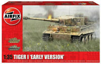 Airfix Tiger I - Early Version 1:35 Scale Plastic Model Tank Kit A1363