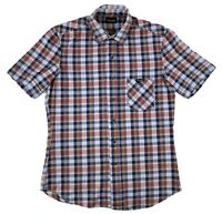 "Men's Vintage Wrangler Plaid Short Sleeve Shirt Medium 36"" Chest Quick Dispatch"