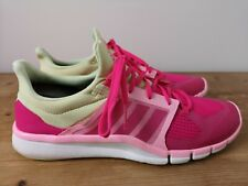 Womens Adidas Adipure 360.3 Pink Trainers VGC - UK 9