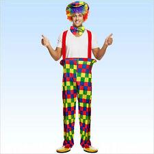 Kostüm Clown Gr. 50-54 Clownskostüm Harlekin Spassmacher Kindergeburtstag