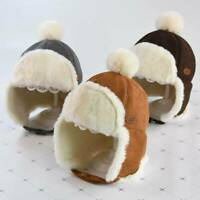 Children Winter Warm Hat Kids Baby Soft Faux Fur Earmuffs Thicken Plush Cap~