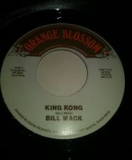 BILL MACK rare rockabilly 45 rpm record KING KONG