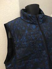 Nautical Men's Reversible Camouflage Vest Jacket Estate Blue Size XXL NWT