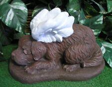 Pup Puppy Dog Angel Cupid Memorial Latex Fiberglass Production Mold Concrete