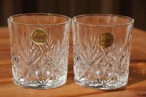 2 x Cristal d'Arques Danube Tumblers