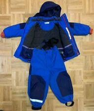 H&M Skijacke und Skihose Schneeanzug zweiteilig Blau Größe 104 UK 3-4Y