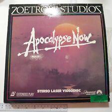 Laserdisc Ld Apocalypse Now Marlon Brando Martin Sheen Zoetrope Studio Free Ship