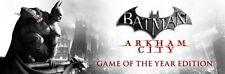 Batman Arkham City GOTY Edition PC Steam Key