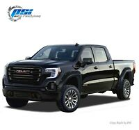 """Paintable Pocket Fender Flares Fits GMC Sierra 1500 2019-2020 5'8"""" and 6'6"""" Bed"""