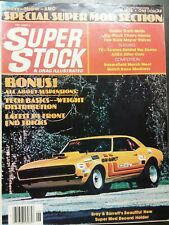 Super Stock June 1976 Chevrolet, Dodge, Hornet, Charger, Thunderbird, Pontiac