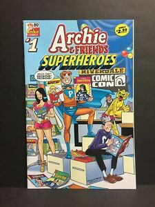Archie & Friends: Superheroes #1 80th Anniversary VF 2021 High Grade Comic Book