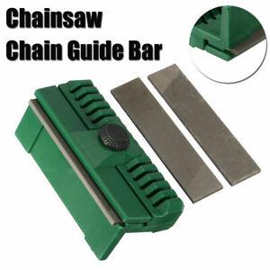 Chainsaw Chain Guide Bar Rail Dresser File Repairer Tool for Stihl Husqvarna KIT