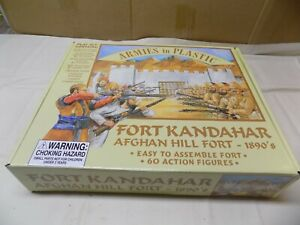 Fort Kandahar by AIP Mint Plus extra Timpo figures 2009