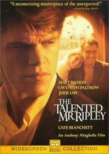 The Talented Mr. Ripley Dvd | Matt Damon | Philip Seymour Hoffman | Thriller