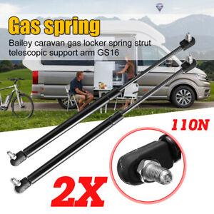 1 Pair Caravan Rear Tailgate Gas Locker Strut Spring Strut Support Arm   !!