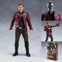 SHF AVENGERS: INFINITY WAR  STAR-LORD ACTION FIGURES WITH BOX