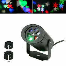 Christmas Party Hallowmas Rotating Rgb Led Projection Lights Mood Lamp