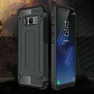 Case Samsung A12 A02S A52 A72 phone hard armor survivor tough, 2 layered Cover