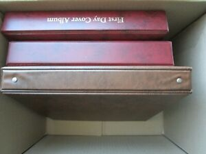 ESTATE: 3 Australia Albums in box unchecked unsorted as received  (b1107)