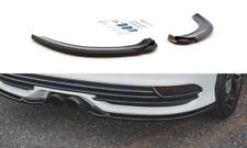 CUP Heckstoßstangen Diffusor Seiten Ansätze für  Ford Focus MK3 ST FL V2