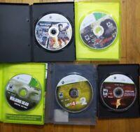 Dead Rising, Left 4 Dead 2, Walking Dead, Resident Evil 5, Dead Island 360 Lot 5