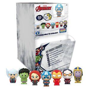 Marvel Avengers Puzzle Palz Character 3D Eraser Figure - Series 1