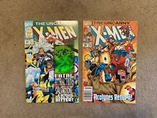 The Uncanny X-Men Comic Book Lot Of 2 #304 Anniversary Edition 30 Years of X-Men