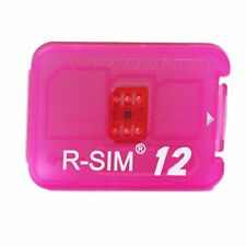 RSIM 12 Newest 2018 R-SIM Nano Unlock Card fits iPhone X/8/7/6/6S 4G LTE ios11