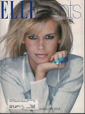 Elle ments of Style Claudia Schiffer Elle Supplement November 1995 091420ame