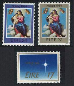 Ireland Christmas 3v 1984 MNH SG#600-602