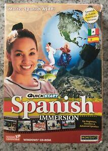 QuickStart Spanish Learn Spanish Quickly Windows CD-ROM