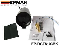 Manometre de Temperature d' Huile EPMAN Micro 37mm Digital NOIR ETANCHE Neuf