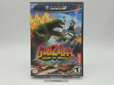 Godzilla: Destroy All Monsters Melee (Nintendo GameCube, 2002) Complete
