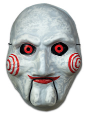 Saw Billy Jigsaw Vacuform Mask Puppet Dummy Horror Movie Clown Halloween Costume
