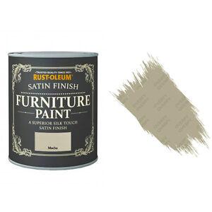 Sale RustOleum Mocha Satin Chalky Chalk Furniture Paint Vintage Shabby Chic 750m