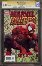 Marvel Zombies # 1 CGC 9.8 White Variant SS (Marvel 2006) Suydam signature