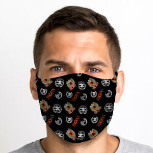 Trojan Pattern One Size Reusable Washable Breathable Face Mask From UK