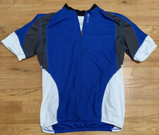 Sugoi Cycling Jersey - Blue/White - Men's Size XL