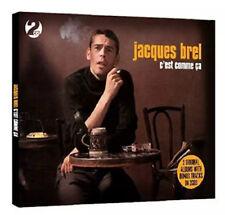 Jacques Brel - c'est comme ca - Double CD - NEW/SEALED