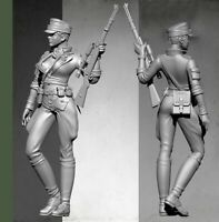 1/35 Resin WW2 German Female Sniper Unassembled Unpainted BL704