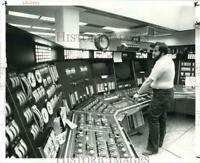1983 Press Photo Control Room at the Perry Nuclear Plant - cvb29712
