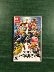 Ultimate Super Smash Bros. Nintendo Switch Video Game Brand New Sealed Package