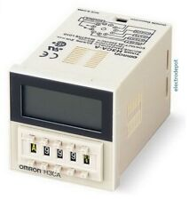 OMRON H3CA-A Multi function Timer 24v to 240V Time Relay On Off delay DIN base