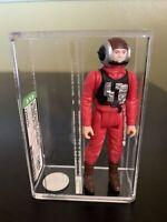 Vintage 1984 Kenner Star Wars B-Wing Pilot, No COO, Graded AFA U85 NM+ COA!!!