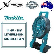 Makita 14.4V / 18V Lithium-ion Mobile Fan Robust Design Bumper Protect